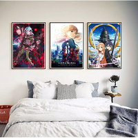 Sword Art Online Coated paper Poster Anime Poster Home Decor Poster Wall Sticker 42 30cm Can