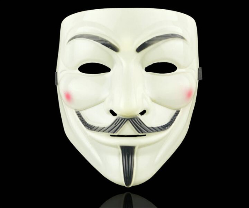 Halloween Masks V for Vendetta Mask Guy Fawkes Anonymous Fancy Dress Cosplay Costume A626|Boys Costume Accessories|   - AliExpress