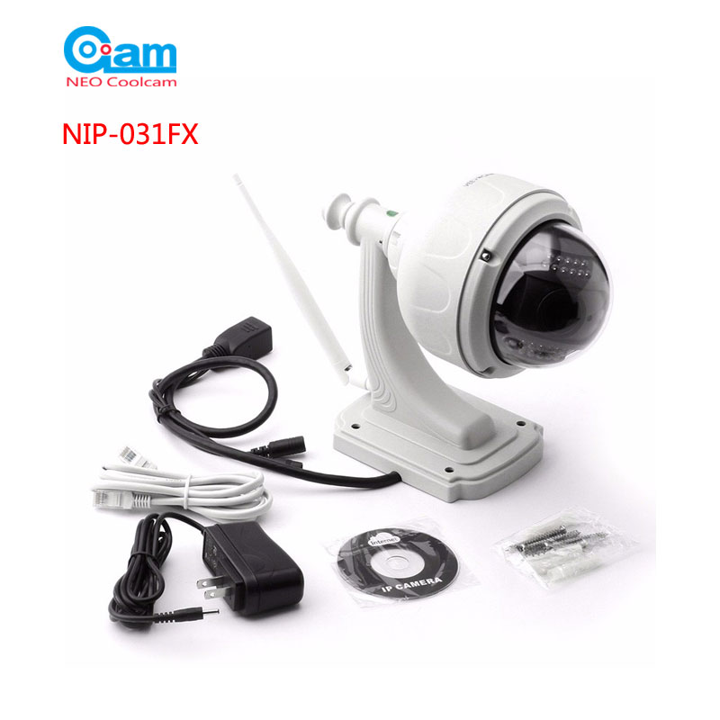 COOLCAM HD IP Camera 720P 1.0MP Wifi Megapixel IP Cam Network Surveillance Built In 8G SD Card ,sn:NIP-31FX ...