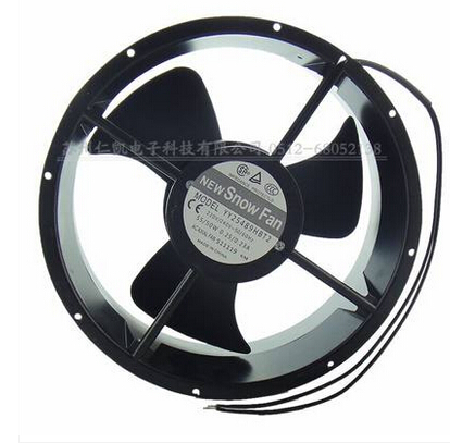 100% brand new SNOWFAN YY25489HBT2 AC 220V 25CM 25489 dual ball bearing fan axial fan 220v ac 280x280x80mm axial radiator fan 1341cfm 2400rpm ball bearing high speed
