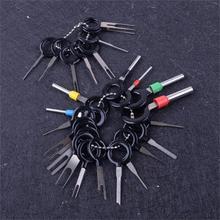 26ชิ้น/ชุดATVรถจักรยานยนต์รถยนต์เครื่องมือกำจัดขั้วสายสายไฟConnector Pin Extractor Pullerสำหรับถอดยานยนต์