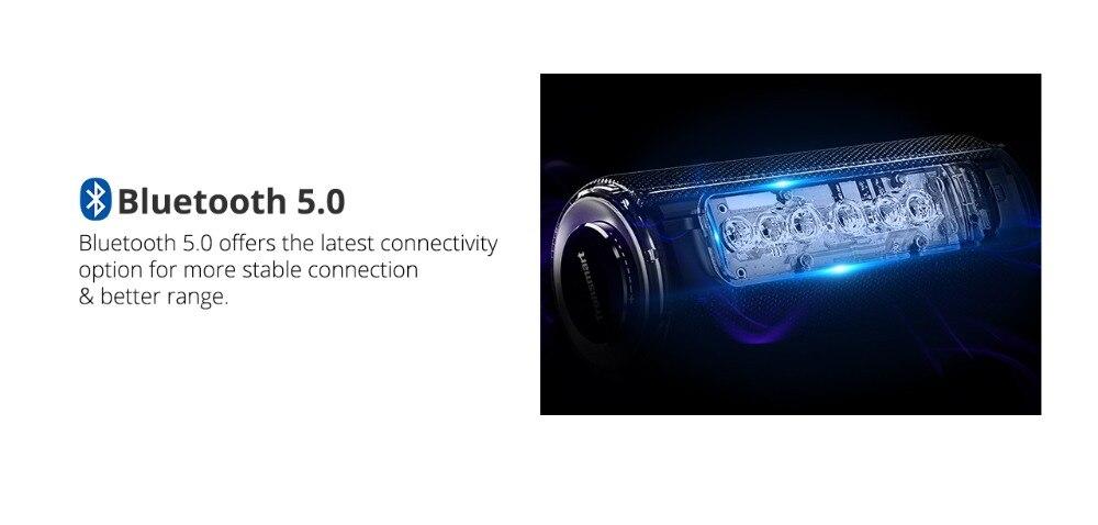 Tronsmart T6 Plus Bluetooth Speaker 40W Portable Speaker Deep Bass Soundbar with IPX6 Waterproof, Power Bank Function SoundPulse_09