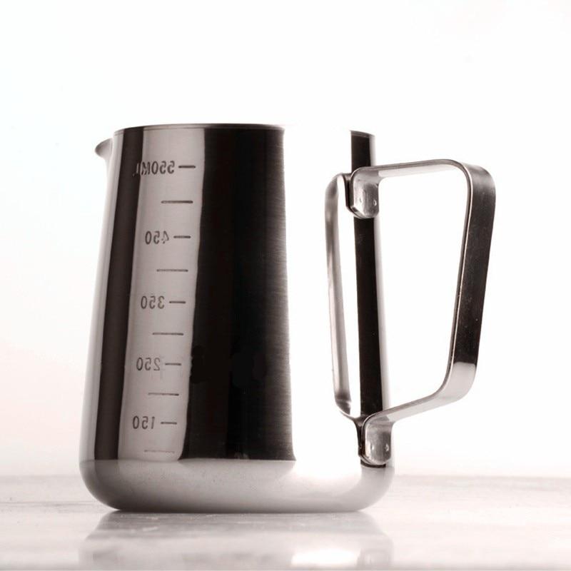 900 ml In Acciaio Inox Barista Espresso Caffè Brocca Scala Da Cucina ...