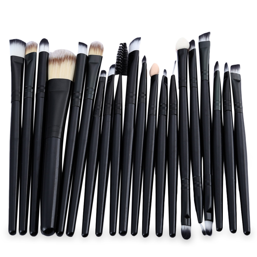 12PCS Professional Makeup Brushes Eye Shadow Foundation Lip Brush Set Cosmetic Tool Eye Face Cosmetic Make Up Brush Tool Kit shoushoulang w211 professional makeup brush squirrel hair eye shadow brush ebony handle cosmetic tool eye shader make up brush