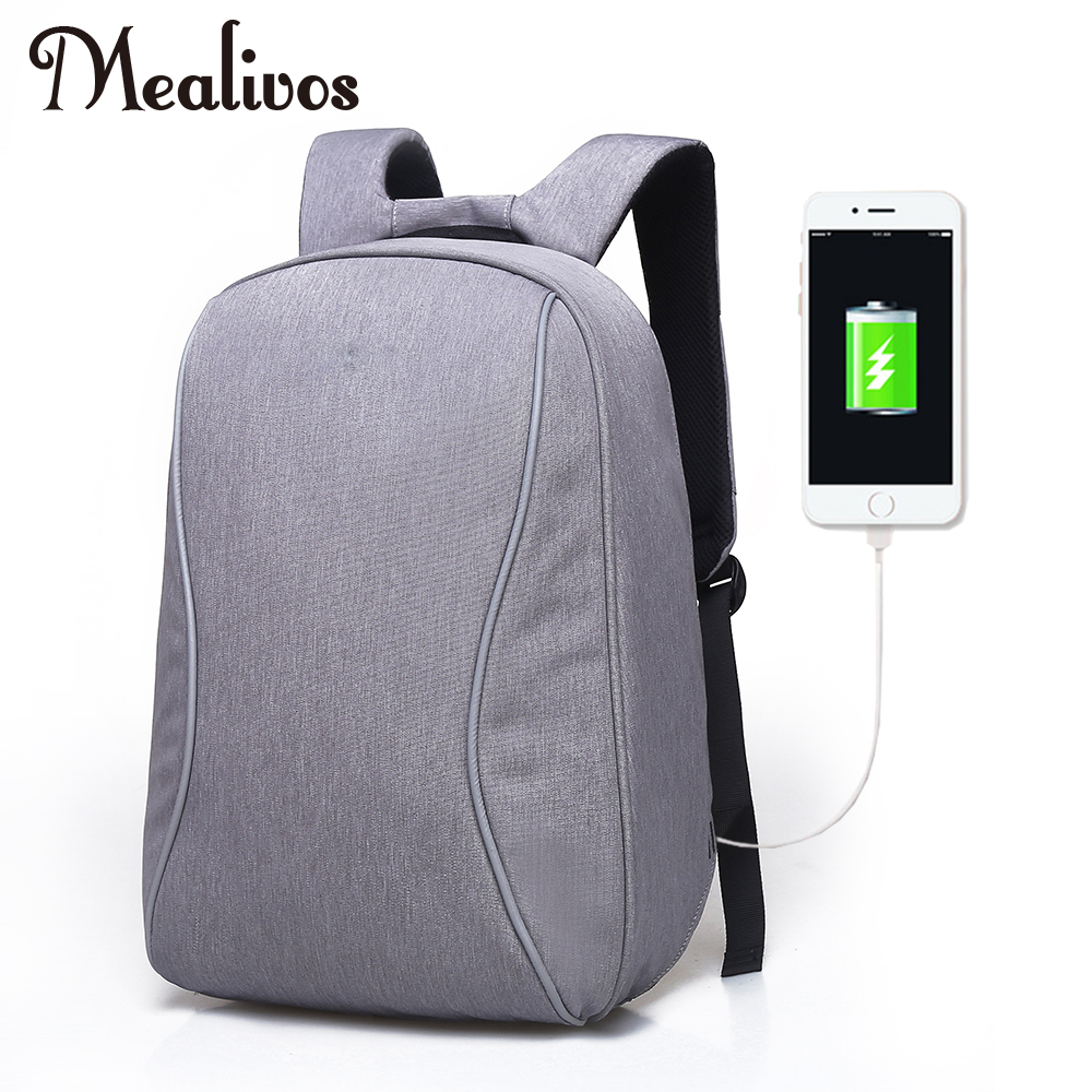 f587333aeb Mealivos Anti-theft Water Resistant Polyester Laptop Backpack with USB  Charging Port Under 17-
