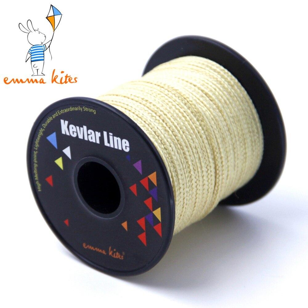 100ft 30m of 750lb kevlar line flying kite line string for Kevlar fishing line