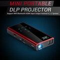 Mini Suporte Projetor DLP Wi-fi Bluetooth HDMI Android 4.2.2 Compatível w/iPhone Andorid PC Portátil Do Telefone Móvel LEVOU Projetor