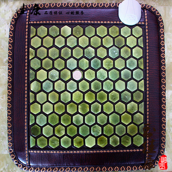 Free Shipping for Natural Jade Pads Jade Cushion Electric Heated Version Physical Therapy Mats Heat 70 Celsius 45*45CM
