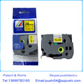 Совместимая кассета Tze Tze661 tze-661 для P-touch ленточная этикетка, 36 мм * 8 м черный на желтом