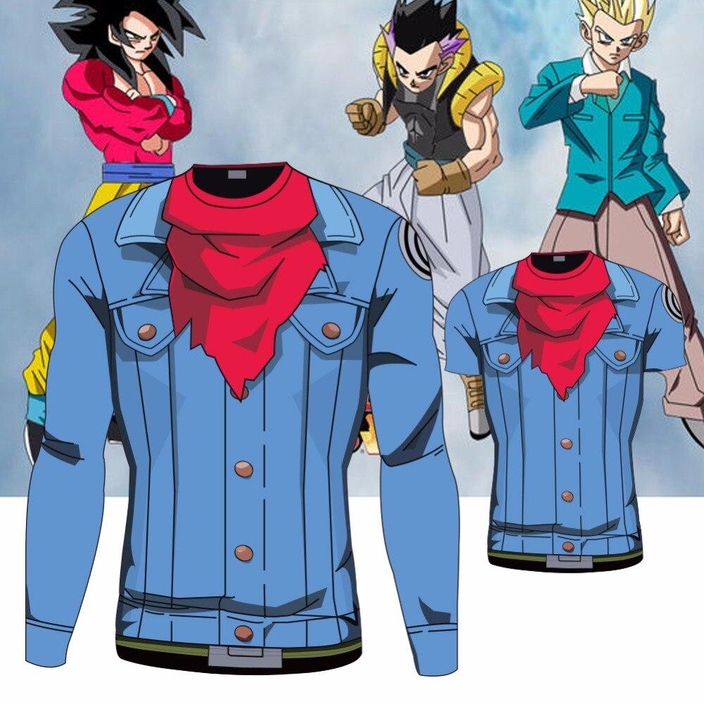 Exceptionnel Dragon Ball Z Vegeta Goku Summer Style 3D Print Fashion Casual  NM44