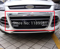 Para Ford Escape Kuga 2013 2014 2015 2016 ABS Chrome Ajuste de La Cubierta Marco de la Rejilla Frontal