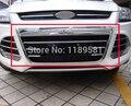 Para Ford Escape Kuga 2013 2014 2015 2016 ABS Chrome Grade Dianteira Capa Quadro Guarnição