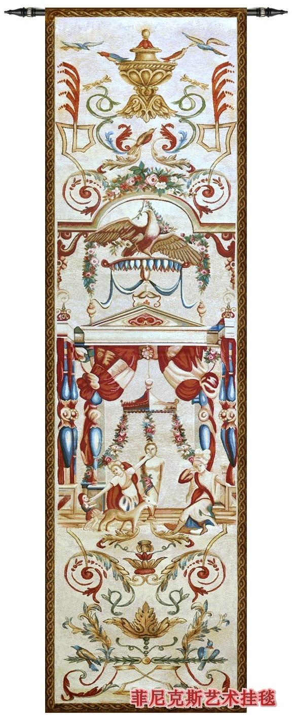 Villa Decoration Elegant Palace European Design And Elegant Tapestries Wall Hangig Big Size 245 70cm Medieval