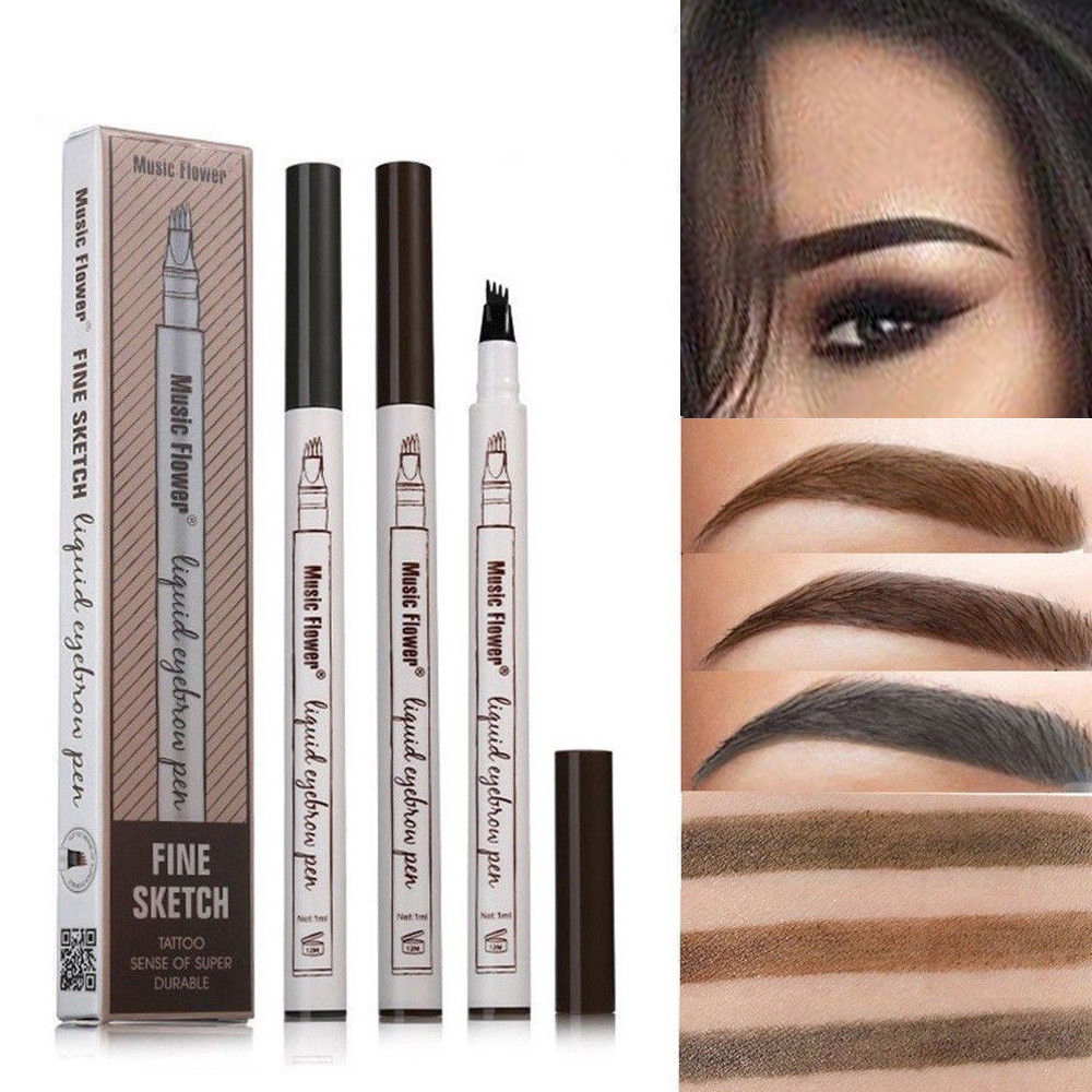 Eyeliner liquid pencil pro eye makeup comestics eye liner pen easy to draw durable waterproof tattoo liquid eyebrow pen