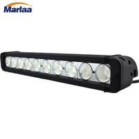 100w 17 inch Single Row Led Light Bar 10x10W Work Light For Hunting Driving Offroad Light Spot/flood 10V 30V 4x4 IP67