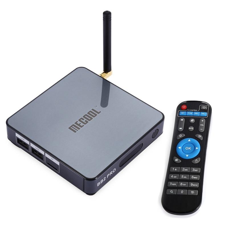 MECOOL BB2 Pro TV Box With Android 6.0 TV 3GB DDR4 RAM 16GB ROM + Amlogic S912 Octa Core CPU Smart TV Set-top Boxes 你好 法语4 学生用书 配cd rom光盘