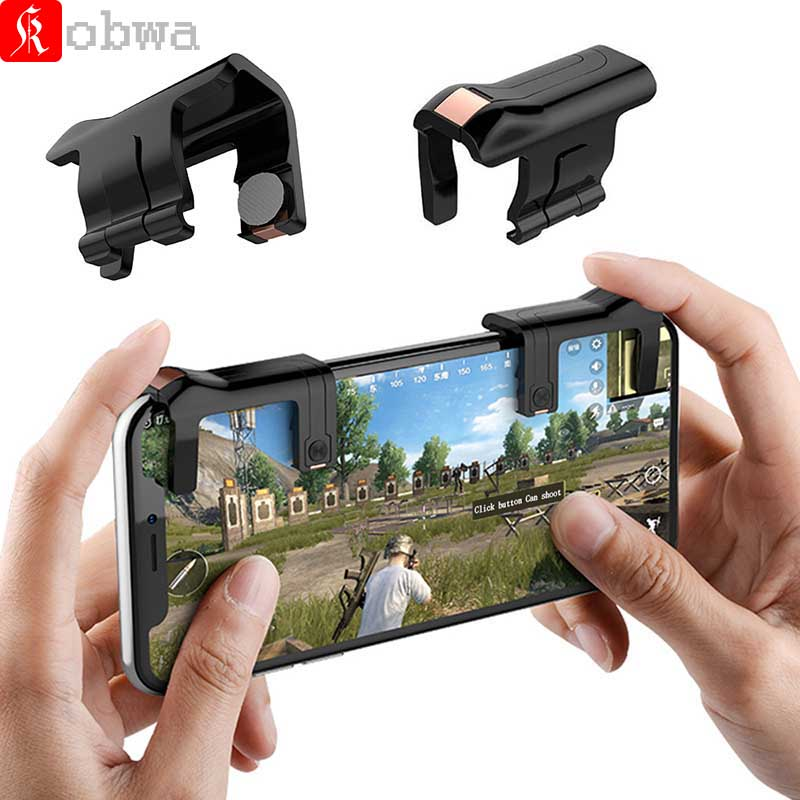 Mobile Game Shooter Controller for Rules of Survival Fire Aim Key Joystick for Smart Phone Tablet Gaming Controller for PUBG