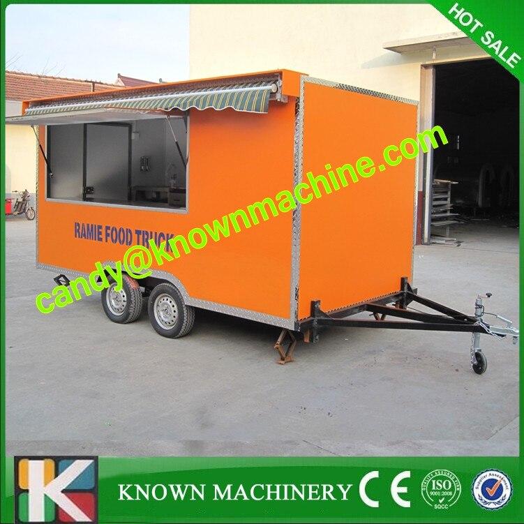 Street food cart Ice cream Venidng Cart mobile food kiosk for sale