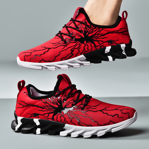 Image 1 - New Clunky Sneaker Women Shoes Thick Bottom Leisure Shoe Shoes Woman Walking Footwear Zapatillas Mujer Deportiva Plus Size 45 46