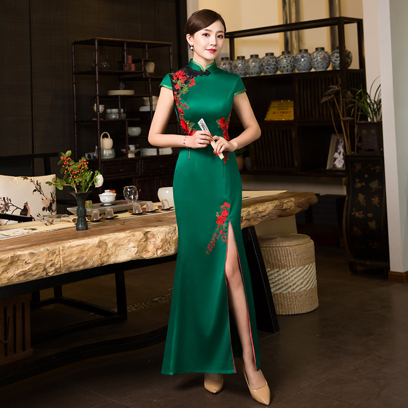 136f6bba867db top 10 largest green party dress xxxl brands and get free shipping ...