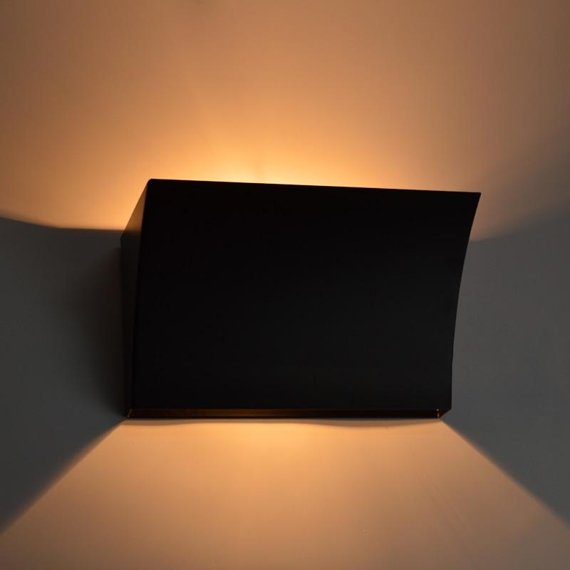 Breve dormitorio moderno Lámpara de pared de hierro de la sala de - Iluminación interior