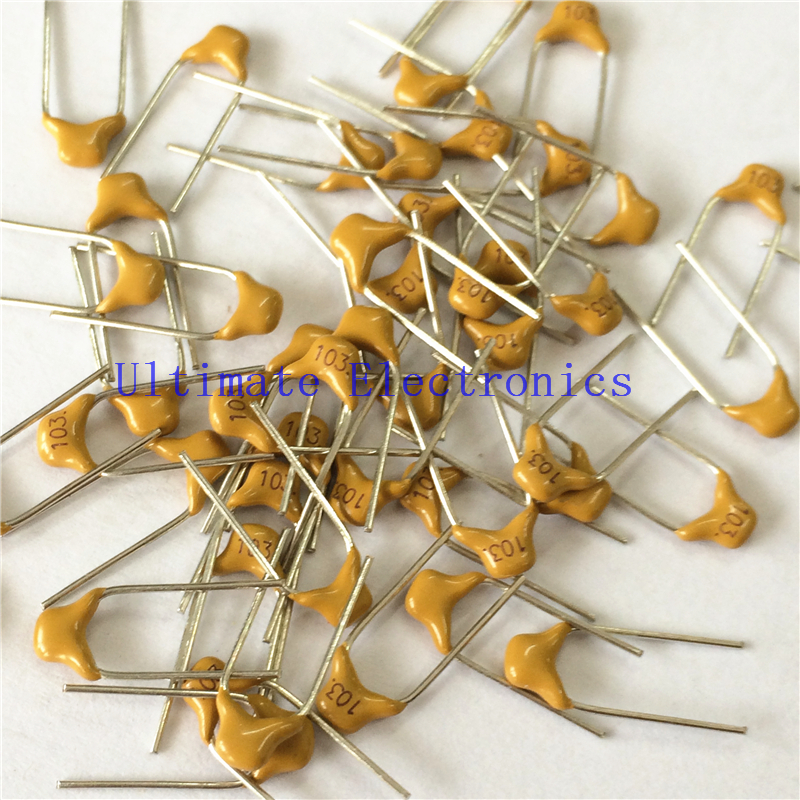 1000pcs/lot Multilayer ceramic capacitor 103 50V 10nF 103M P=5.08mm