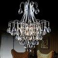 Luxo moderno lustre de cristal para sala de estar lustres e pendentes indoor iluminação 100% garantido