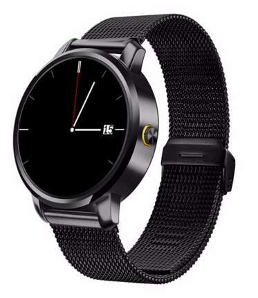 ФОТО hot V360 Sport Fitness Pedometer Wireless Bluetooth Bracelet Touch Screen Mobile Cell Phone Wrist Smart Watch Support Hebrew
