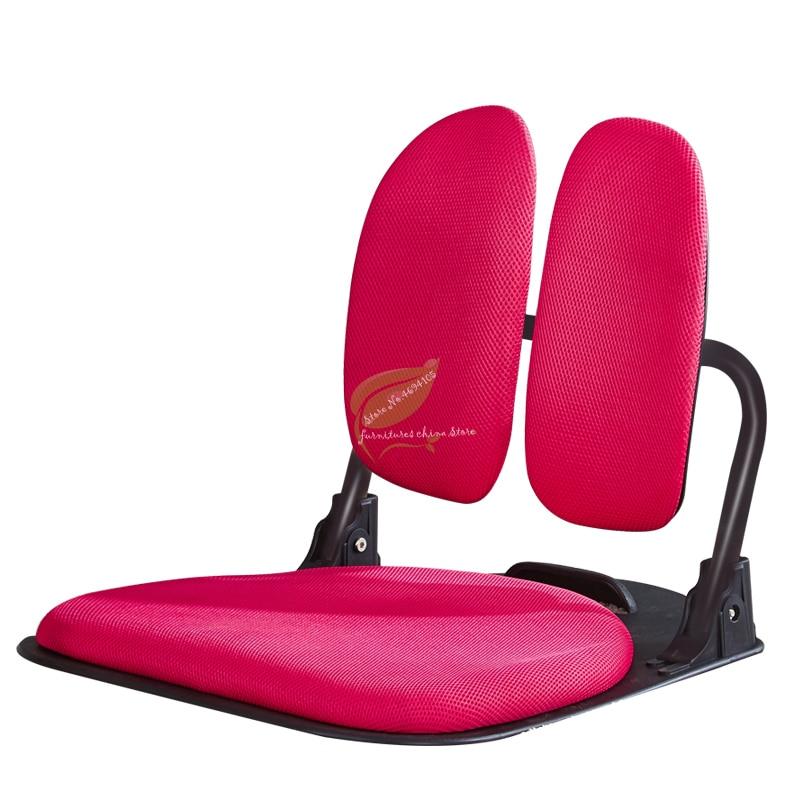 Leisure Chair Back Support Folding Tatami Ergonomic Comfort Legless Floor Zaisu Chair Compact Seat Living Room Furniture