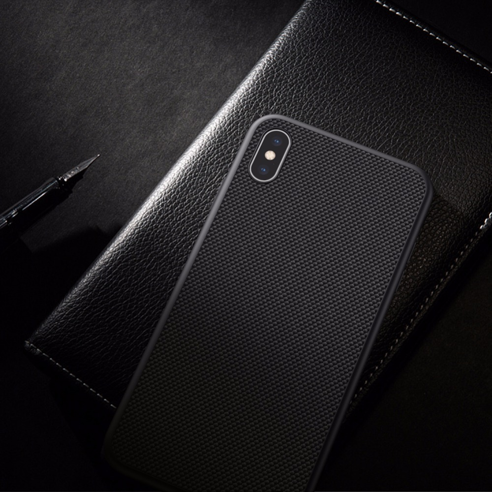 wholesale dealer 1044b 25cbb US $10.89 5% OFF|Case For Apple iPhone X Xs Max Original NILLKIN Nylon  Fiber Textured Phone Case For iPhone Xs Protective Phone Shell Cover  Case-in ...