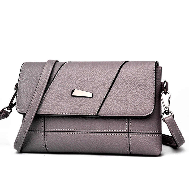 2018 Новое поступление для путешествий из кожи женские сумки Женские однотонные модные сумки на плечо винтажные маленькие сумки-мессенджеры для женщин NB086