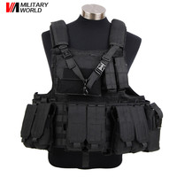 5 Colors Airsoft Tactical Combat Vest Ver 2 Military Strike Outdoor Training Tactical Vest For Men