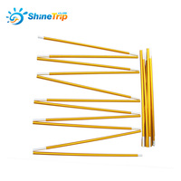 2pcs Shinetrip Aluminium Alloy Tent Rod Outdoor Camping Tent Pole Spare Replacement Tent Support Poles Tent