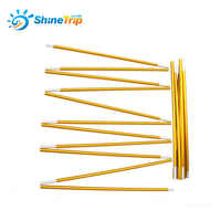 2pcs Shinetrip Aluminium alloy tent rod outdoor camping tent pole spare replacement tent support poles tent accessories 8.5mm
