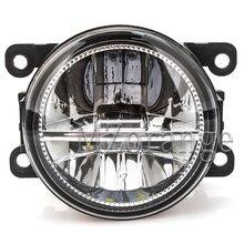2 шт. светодиодный Противотуманные фары для peugeot 207 307 407 607 3008 SW cc Ван 2000-2013 Противотуманные фары сборки супер яркий фонарь