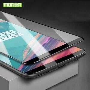 Image 2 - Mofi voor oneplus 5 t glas film voor een plus 5 t glas screen protector voor oneplus 5 t gehard glas volledige cover 9 H 6.0 inches