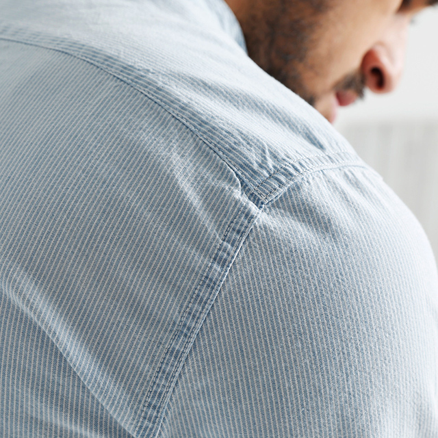 Casual Long Sleeve Striped High Quality Shirt 3