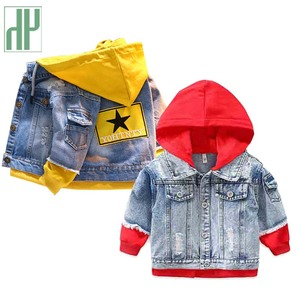 Kids jacket denim jeans jacket girls kids Long Sleeve Casual Outerwear Children Windbreaker spring baby girls coats 2 5 8 Years
