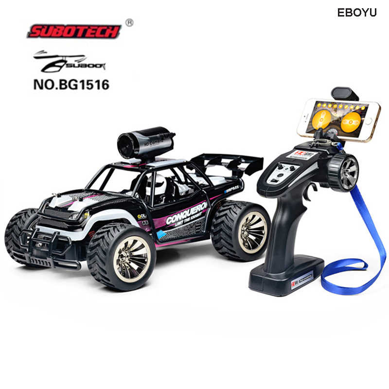 Eboyu Subotech Bg1516 1 16 2 4g Rc Car With 720p Hd Camera Wifi Fpv High Speed Racing Rc Desert Buggy Car Gift Toys