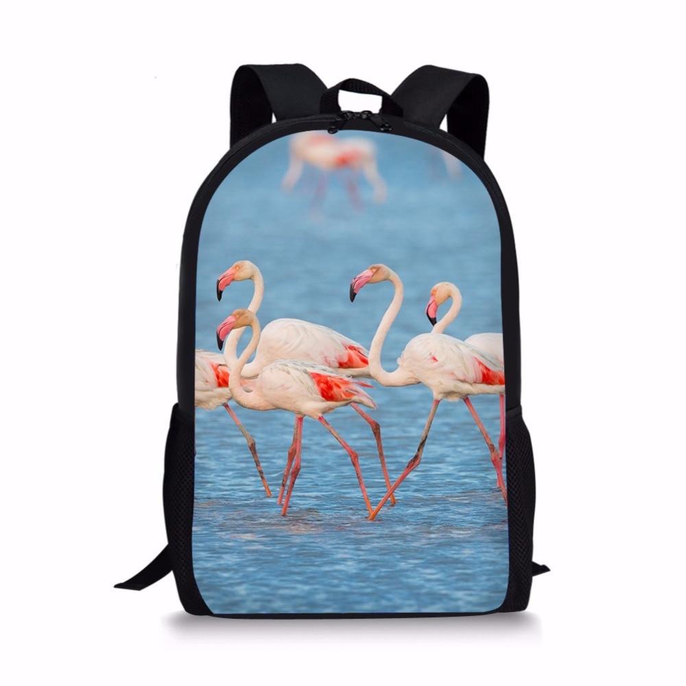 FORUDESIGNS Women Schoolbags Animal Printing Children School Backpack For Teenager Boys And Girls Kids School Bag Mochila bags