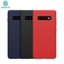 Für Samsung Galaxy S10 Lite Fall NILLKIN Flüssigkeit Glatte Silikon Fall Für Samsung Galaxy S10E Abdeckung Schutz Taschen