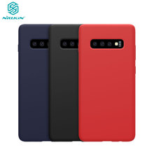 for Samsung Galaxy S10 Lite Case NILLKIN Liquid Smooth Silicone Case For Samsung Galaxy S10E Cover Protective Bags