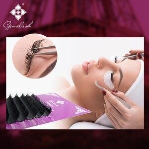 Image 5 - Genielash cils individuels volume extensions de cils haute qualité faux cils vison cils professionnel makeup50pcs/lot