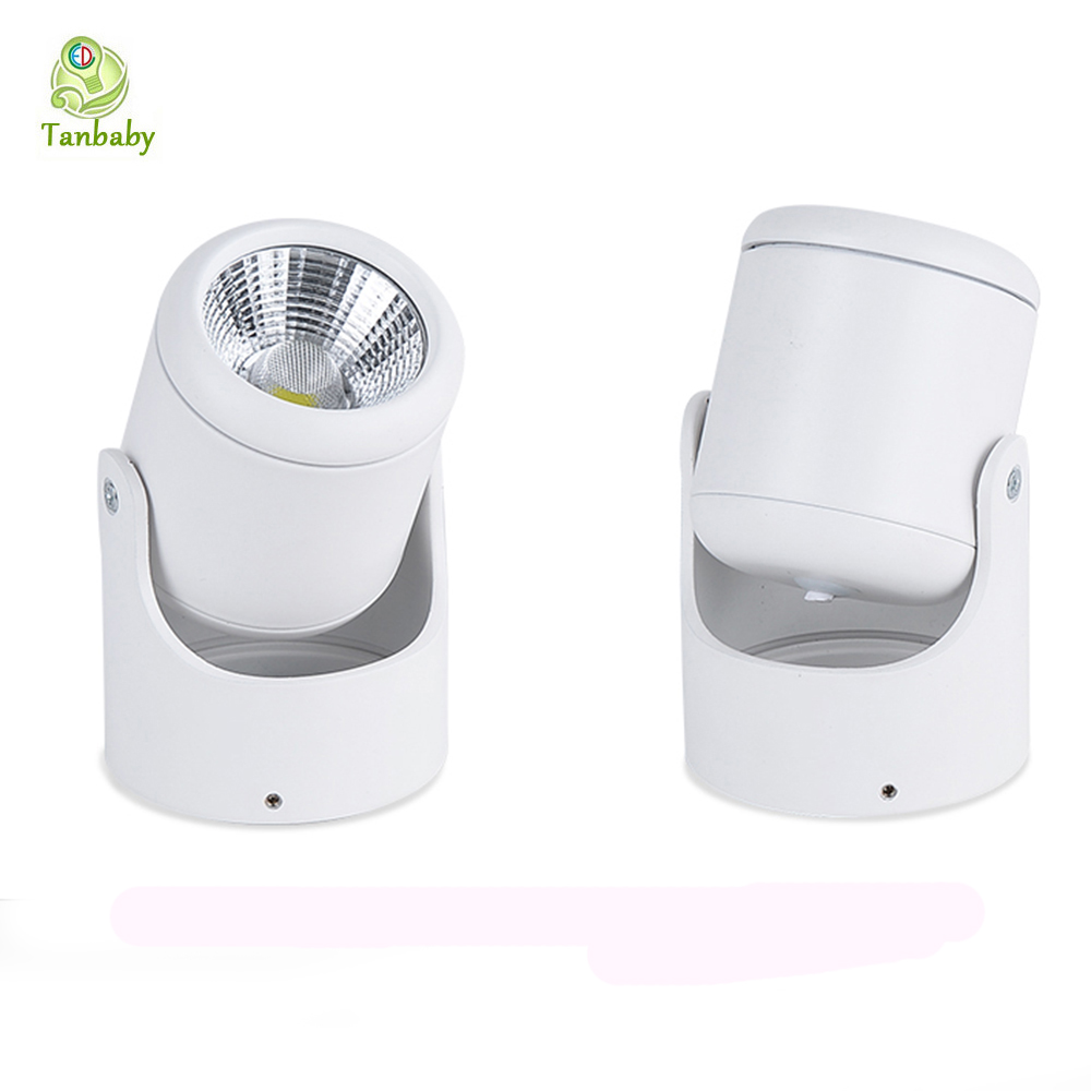 Tanbaby 10W COB Cei Led Dimmable Down Lights AC85-265V White Warm White Spot Lamp