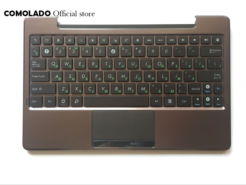 RU Russian Laptop Keyboard with C shell for ASUS EP101 TF101 TF201 TF201T TF700T top palmrest Upper cover RU Layout