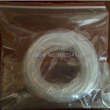 Силиконовые трубки, 6*9, 6 мм* 9 мм, высокая прозрачность медицинского использования высокая термостойкость силикон FDA не ядовитый шланг