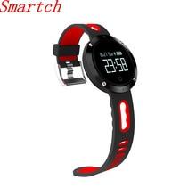 Smartch DM58 Водонепроницаемый Smart Браслет Heart Rate крови Давление Смарт Браслет фитнес трекер спортивные Смарт часы для IOS