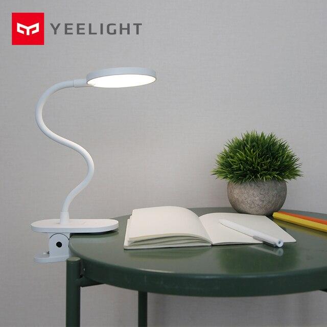 Yeelight lampe de bureau J1 pro lumière protection des yeux lampe Table USB lumière pince réglable lampes LED Rechargeable