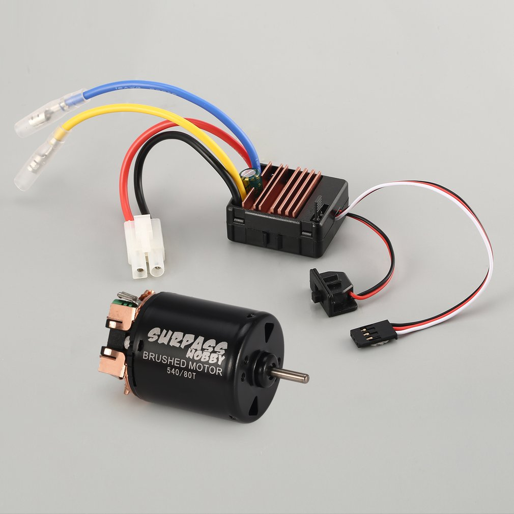 1 x 60a brushed esc 1 x english manual