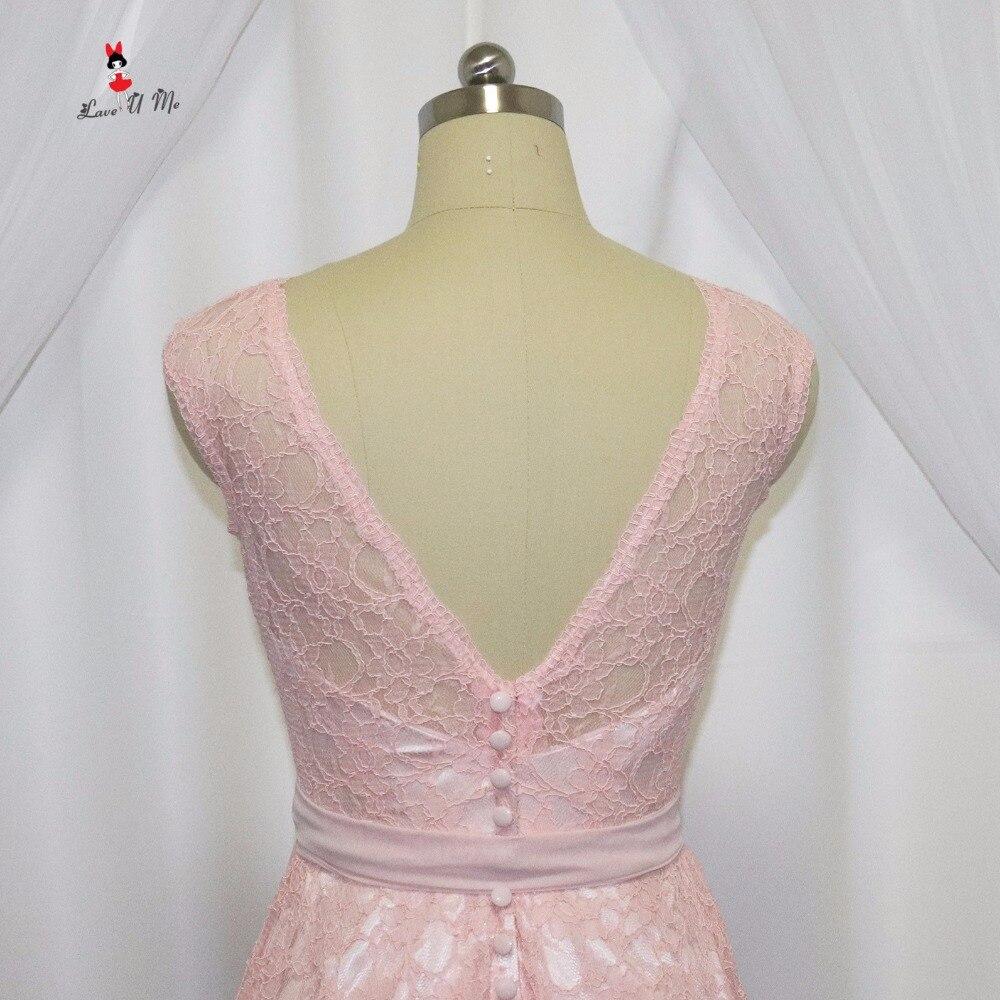 Atemberaubend Erröten Rosa Kurze Brautjunferkleider Bilder ...